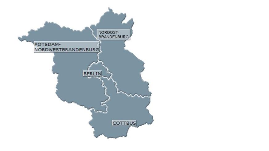 ver.di-Bezirke Berlin-Brandenburg